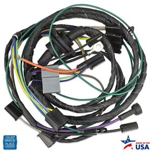 1975 1976 Camaro Air Conditioning Harness Includes Heater Wiring Ea