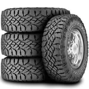 4 New Goodyear Wrangler Duratrac Lt 285 70r17 Load E 10 Ply At All Terrain Tires