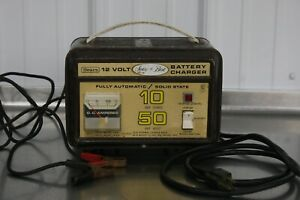 Rare Vintage Sears 10 50 Amp 12 Volt Car Auto Battery Charger Collectible Garage
