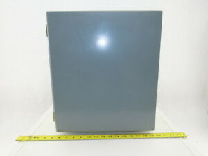 Electromate E161410ch 16x14x10 Steel Electrical Enclosure Wall Mount W back Plat