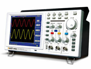 New Owon Portable Digital Oscilloscope 25mhz Pds5022t 7 8in Color Lcd 3 Yrs Warr