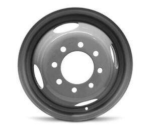 16 Grey Replacement Wheel Fits Chevy Gmc 8 Lug Dually Steel 16x6 8x6 5 127mm