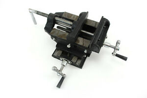 2 Way 4 Drill Press X y Compound Vise Cross Slide Mill R
