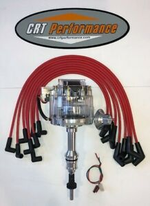 Ford 5 0l 302 Efi To Carb Conversion Hei Distributor Clear Red Plug Wires Usa