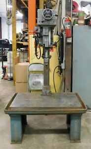 10195 Clausing Variable Speed Drill Press