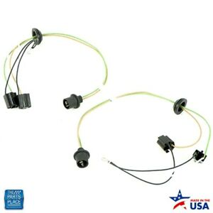 1959 Impala Bel Air Headlight Connection Harness Set Of 2 For Both Headlights Ea
