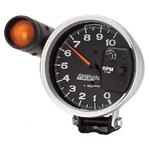 Autometer 233904 Autogage Monster Shift lite Tachometer Black 0 10000 Rpm
