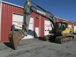 2015 Volvo Ec220dl Excavator Full Cab A c 6400hrs Great U c Coupler What A Deal