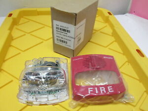 New Simplex Horn Strobe 0743254 Fire Alarm Unit True Alert Red Industrial Safety