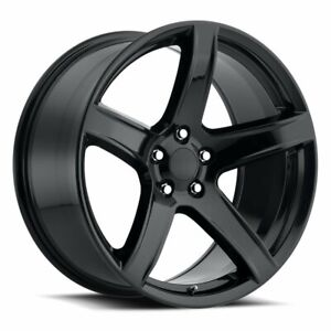20 9 5 11 Hellcat Hc2 Tires Wheels Rims Gloss Black Fits Challenger Charger