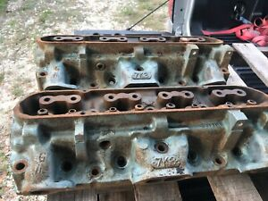 1972 Pontiac Gto Firebird Closed Chamber 7k3 Heads
