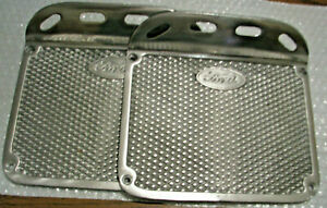 Ford Truck Or Car Step Plates Made Of Aluminum Pair Model A Running Board Custom