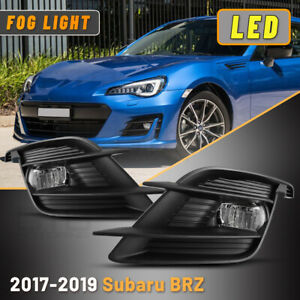Led Fog Light For 2017 2019 Subaru Brz W Wiring Kit Switch Bumper Replace Lamp