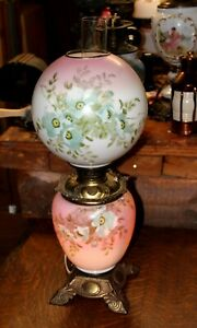 Magnificent Gone With The Wind Lamp Gwtw Banquet Lamp With Original Shade
