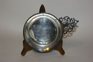 Vintage Stamped Silver Community Porringer Bowl Small Dish With Handle