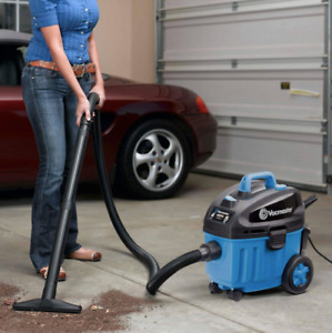 4 Gal Car Vacuum Wet dry Quiet Motor Portable Powerful Suction Vac Attachments