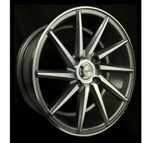 4pcs 068 16inch 7jj Et30 4x114 3 Alloy Wheel Cheap Car Rim Gunmetal 7