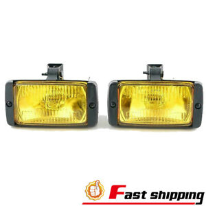 3 6 front Fog Quartz Yellow Lens Halogen Light Lamp Glass Lens Rustproof Housing