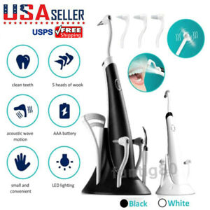 Electric Ultrasonic Vibration Dental Scaler Tooth Calculus Remover Clean Tools