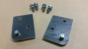1965 1970 Mustang Shelby Convertible Top Cylinder Pivot Brackets