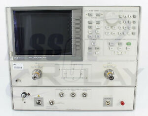 Hp Agilent 8703a Lightwave Component Analyzer With Options 12 100 And 210