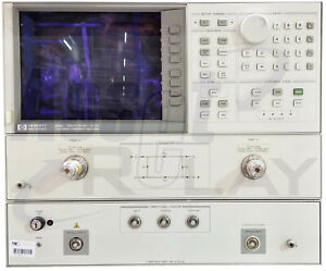Hp Agilent 8703a Lightwave Component Analyzer With Options 012