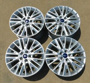 Ford Focus Fusion 17 Alloy Wheels Oem 10013