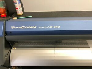 Roland Versacamm Vs 640 With Take up 64 Printer Cutter Eco Solvent