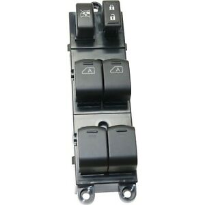 New Power Window Switch Front Driver Left Side Black Lh Hand For Nissan Maxima