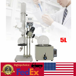 5l Rotary Evaporator Complete Turnkey Package With Water Vacuum Pump 0 120rpm