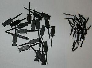 Set Of 20 Mini Grabber Test Clips new With Leads