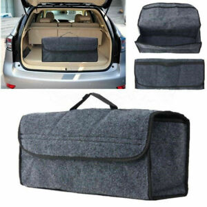 Trunk Organizer Foldable Car Storage Bag Collapsible Cargo Box Portable Suv