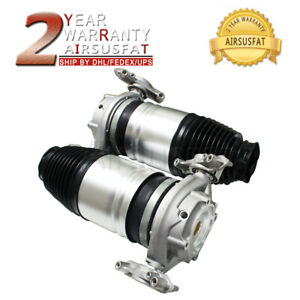 Pair Rear Left right Air Suspension Spring Bag Vw Porsche Touareg Cayenne 11 16