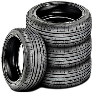 4 New Accelera Phi R 205 50zr15 205 50r15 89w Xl A S High Performance Tires