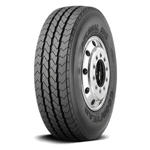 2 New Goodyear Regional Rhs 235 75r17 5 Load H 16 Ply Steer Commercial Tires