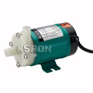 220v 6w 480lph Magnetic Drive Circulation Pump For Water Treatment food Industry