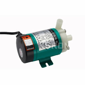 110v 660lph Magnetic Drive Circulation Pump For Water Treatment food Industry