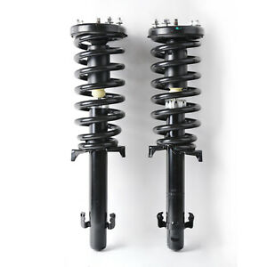 1 Pair Front Shock Absorber Struts Spring For 08 12 Honda Accord