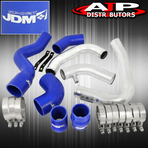 02 05 Audi A4 1 8t Racing Front Mount Intercooler Piping Kit Upgrade Blue Set