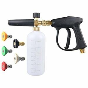 Dus 018 Accessories Foam Cannon Lance Pressure Washer Nozzle Tip Spray Gun 3000