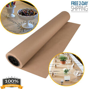 30 X 2400 Inches Brown Kraft Paper Roll Shipping Wrapping Cushioning Void Fill