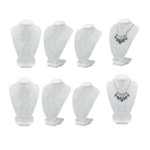 6pcs set Necklace Bust Jewelry Display Stand Figure Jewelry Display Stand