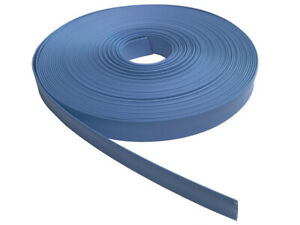100 Ft 100 Feet Clear 1 Inch Polyolefin 2 1 Heat Shrink Tubing Tube Cable Blue