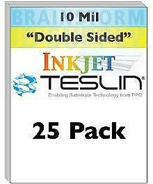 Inkjet Teslin Synthetic Paper 25 Sheets
