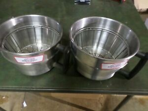 2 Wilbur Curtis Wc 3338 Gemini Deluxe Brew Basket Funnel Assembly 120a 63