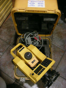 Spectra physics Precision Constructor Dc Total Station In Excellent Condition