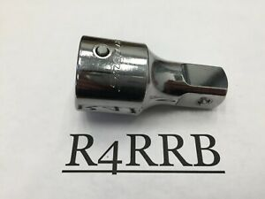Nice 2005 Snap On Tools Usa 3 4 Drive 3 Chrome Lock Button Socket Extension L32