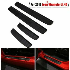 4 Door Entry Guards Sill Guards For 2018 2019 2020 Jeep Wrangler Jl Accessories