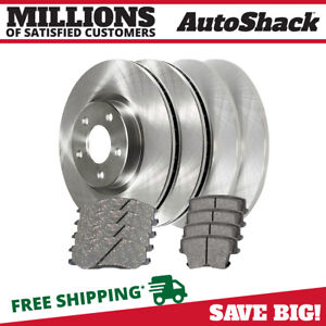 Front Rear Rotors Ceramic Pads For 2006 2012 2013 Dodge Charger 2005 2013 300