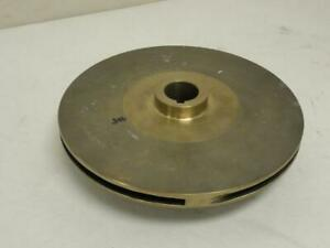 168944 Old stock Goulds 225 11300 Bronze Impeller 8 1 2 Od 1 3 16 id